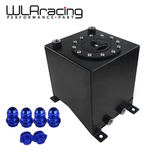 WLR RACING   2.5 Gallon 10L Aluminum Race Drift Fuel Cell Tank Fuel Surge Tank Without Level Sender 210*215*225mm WLR TK13