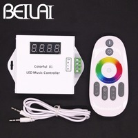 BEILAI DC 12V LED Music Controller Dream Color RGB LED Controller Touch Remote For WS2811 WS2812B WS2813 1903 IC LED Strip 5050
