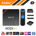 Новейшие Nexbox A95X S905X Amlogic TV Box Android 6.0 Макс 2 Г/16 Г Quad Core 2.4 Г WI-FI КОДИ IPTV Smart Box TV Android Media плеер
