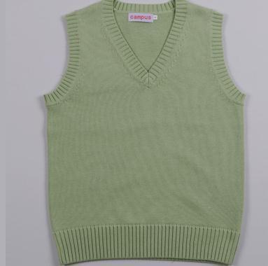 New Preppy Style JK School Uniform Vest Sleeveless Pullover Sweater Vest Japanese Uniform Cotton Cosplay Knitwear Sweater