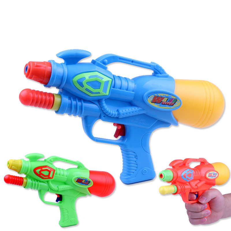 Children Pressure Water Gun Beach Play Water Toys Plastic Medium Spray Water Gun Boys Girls Outdoor Games Toy Kids Gift New G25