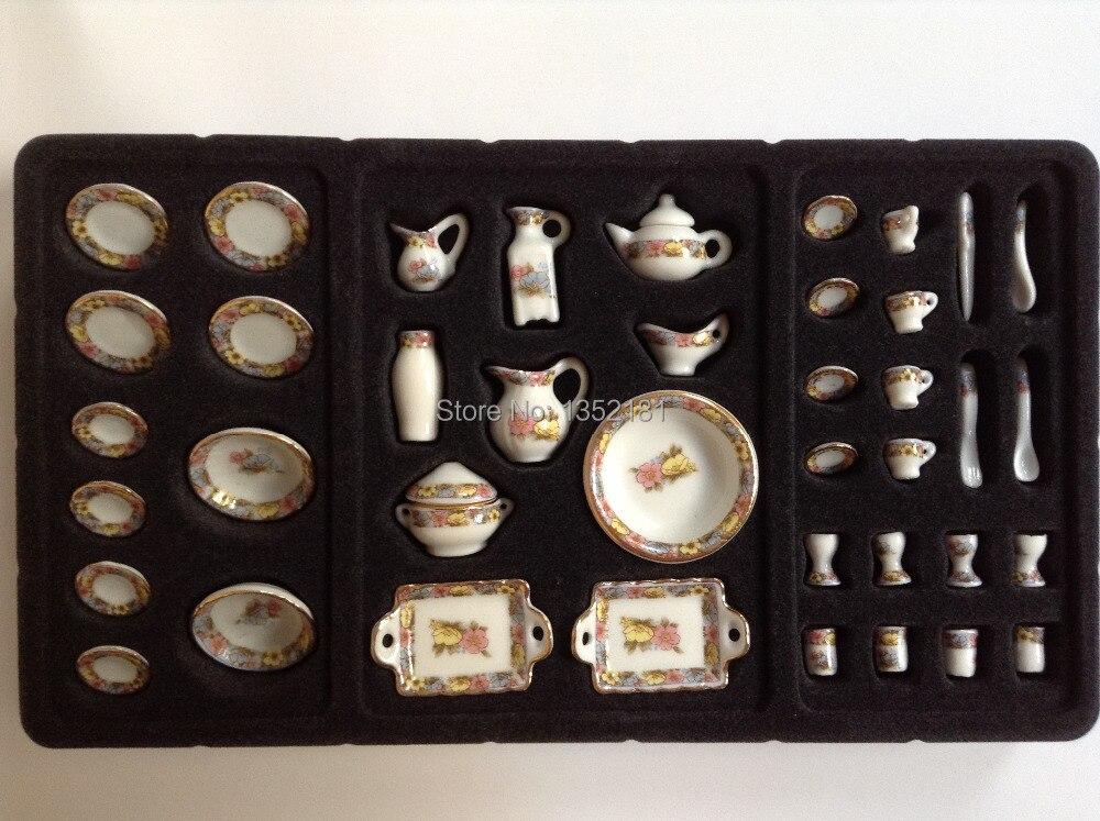 Brass Miniature Kitchen Set Online