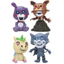 4 Pcs set Permainan Lima Malam Di Freddy Action Figure Bonnie Fnaf Freddy  Fazbear BEAR Mimpi Buruk Foxy Boneka Anime Pvc Mainan . 6719e7bcfc