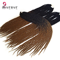 "Havana Mambo Twist Crochet Braid Hair 22""120grams/pcs Synthetic Ombre Kanekalon Braiding Hair Extension ombre Crochet braid hair"