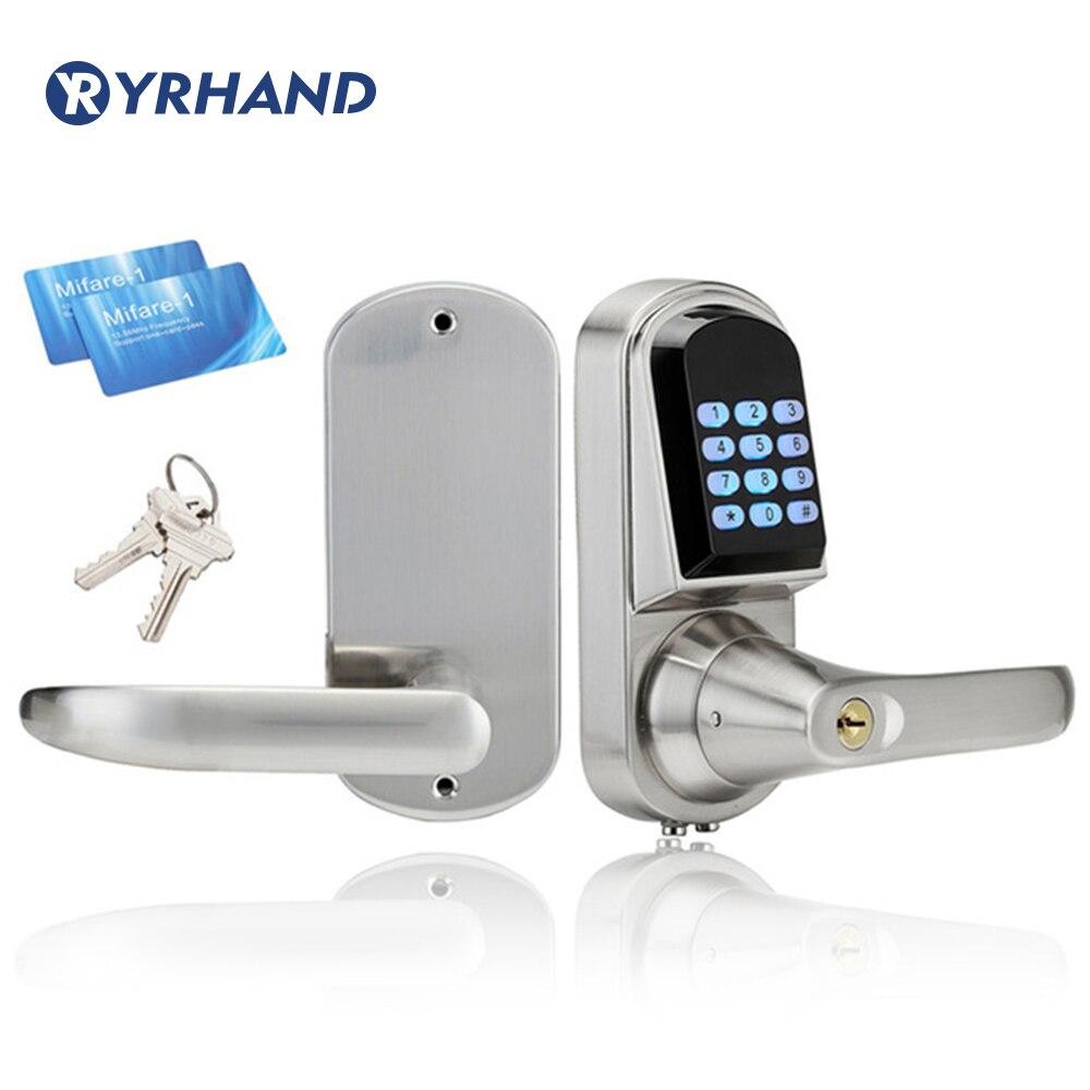 Digital door lock home Mini Electronic Code Door Lock battery door lock Unlock With Code M1
