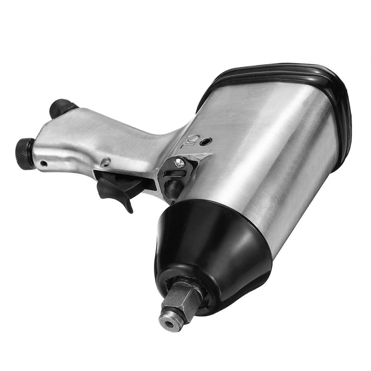 """1/2 """"Drive Zware Pneumatische Slagmoersleutel Tool Voor Auto Wiel Repareren Gegoten Aluminium Hoge Koppel Laag Geluidsniveau 4CFM @ 90PSI"""