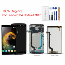 Original For Lenovo Vibe K4 Note LCD Display + Frame Touch Screen For Lenovo A7010a48 A7010 X3 Lite LCD Digitizer Repair Parts