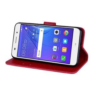 Для Huawei Y3 2017 чехол Высокое качество кожаный флип-чехол для телефона для Huawei Y3 2017 CRO-L22 CRO-L02 CRO-L03 Чехол-книжка