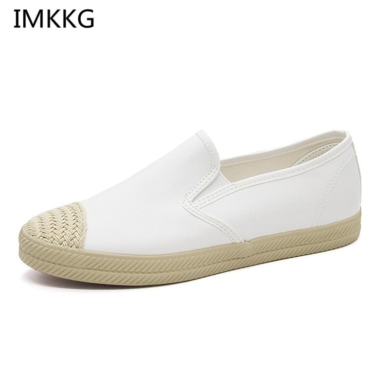 D'été Chaussures Nouveau Blanc Appartements Diapositives Mode ZkiXPu