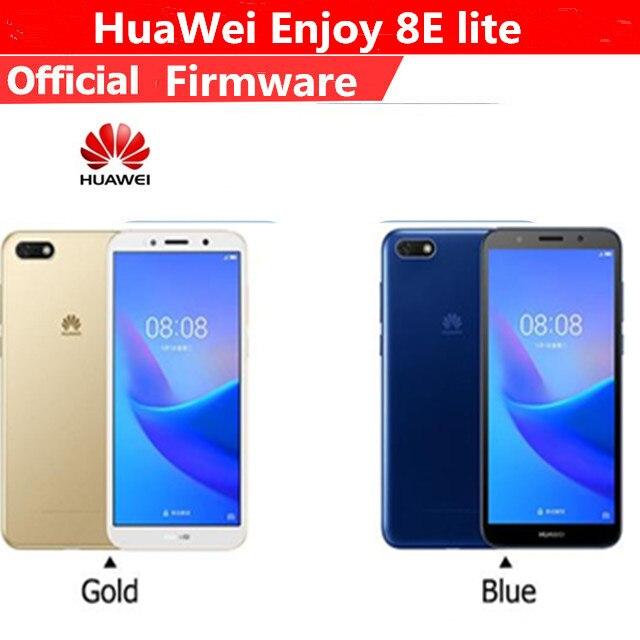 """Оригинальный HuaWei наслаждаться 8e lite 4G LTE Мобильного Телефона MTK6739 4 ядра Android 8,0 5,45 """"FHD 1440×720 2 ГБ Оперативная память 32 ГБ Встроенная память 13.0MP"""