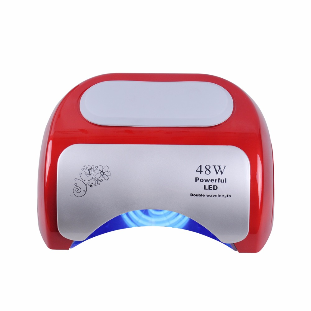 Biutee 48 W secador de uñas polaco máquina CCFL UV lámpara LED Nail ...