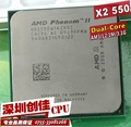 Free Shipping AMD Phenom II X2 550 CPU 3.1GHz Socket AM3 938-pin Processor 80W Dual-Core 1M Desktop CPU scrattered pieces