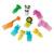 10 sztuk/zestaw Animal Farm mini cartoon owoców widelec znak żywicy owoce wykałaczka bento lunch dzieci dekoracyjne Kolor Losowo