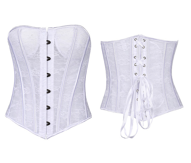 Female Sexy Lingerie Corsets Erotic Corsage Tight Lacing Up Bustier Top Slimming Body Hot Shaper Gothic Lace Wedding Corsets
