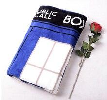 Doctor Who Tardis Blanket