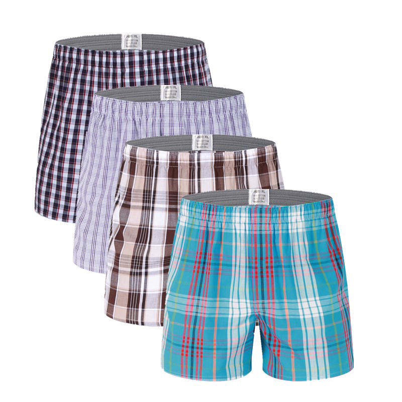 ... 4pcs Lot High Quality Sexy Mens Underwear Boxers Cotton Calzoncillos  Hombre Cueca Boxer Men Boxer Shorts Male Trunks 2017 Brand 08f152caa