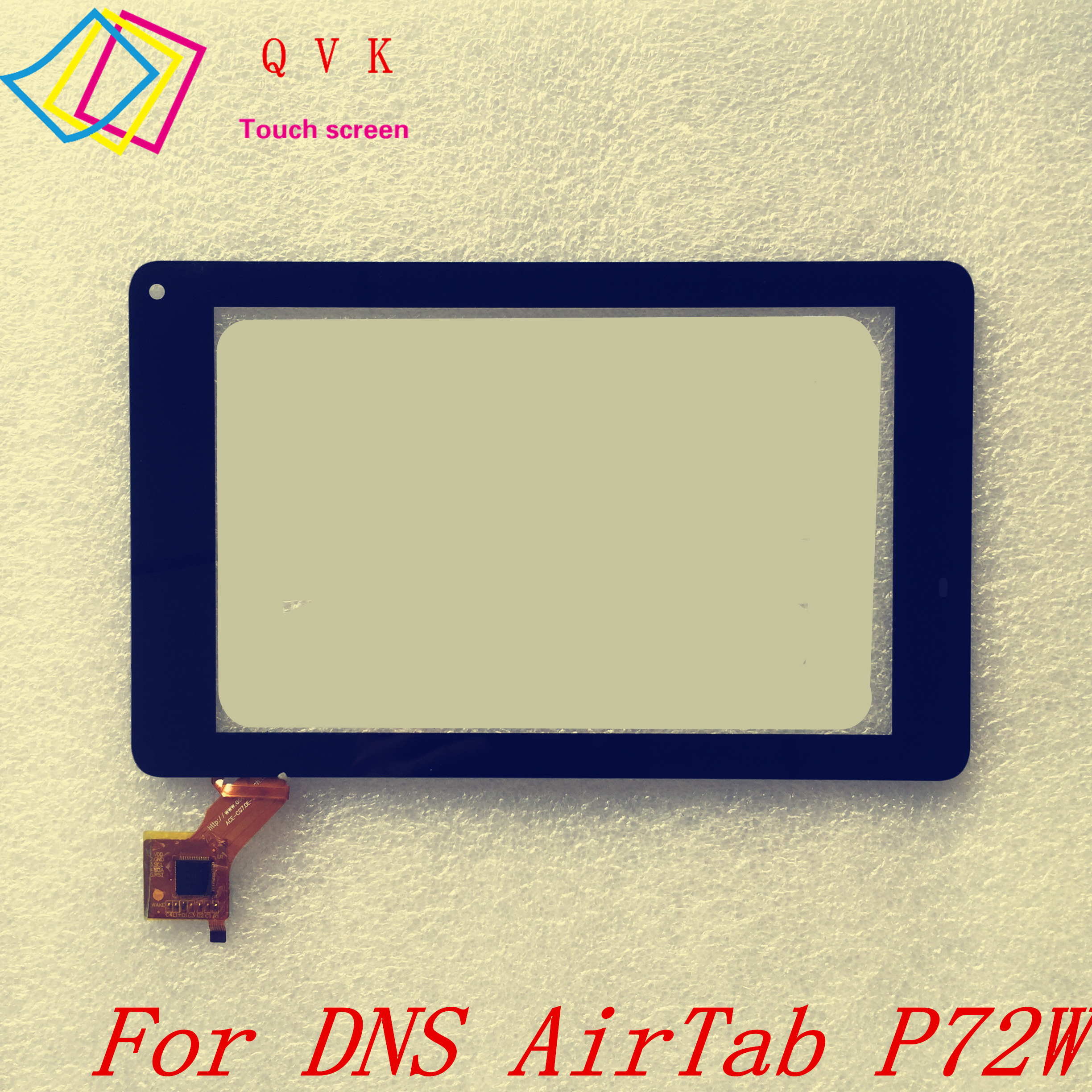 Black 7 Inch For DNS AirTab P72W Tablet Pc Capacitive Touch Screen Glass Digitizer Panel Free Shipping P/N Ace-CG7.0E-243