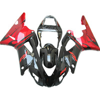 red black Injection molding for YAMAHA YZF R1 fairings 1998 1999 98 99 R1 fairing kit PL07