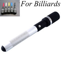 32CM Metal Shaft Balck Telescopic Cue Extension Extreme Billiard Pool Cue Table Tennis Free Shipping
