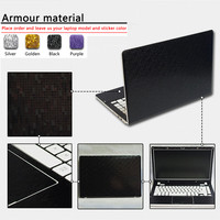 Pure Color ABC Sides Laptop Sticker Dustproof Skins For Lenovo Ideapad Y700 15ISK Ideapad 500S 13