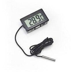 Цифровой термометр с ЖК-дисплеем, датчик для холодильника, морозильной камеры, термограф для холодильника-50 ~ 110 градусов без розничной коро...