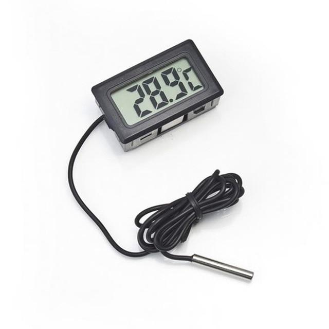 1 sztuk LCD termometr cyfrowy sonda lodówka z zamrażarką termometr termometr do lodówki-50 ~ 110 stopni bez Retail Box