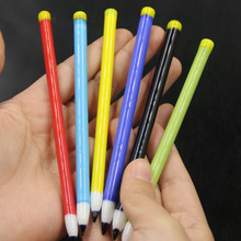 2PCS Dab Tool Glass Dabber Pencil Shape Style Pyrex 6 colors for choice For Water Pipe Oil Rigs