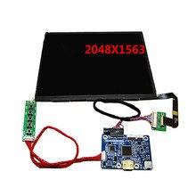 Sale 9.7inch 2K HD LCD screen kit HDMI LP097 LQ097 IPS Physical resolution 2048X1536 for Raspberry Pi 3