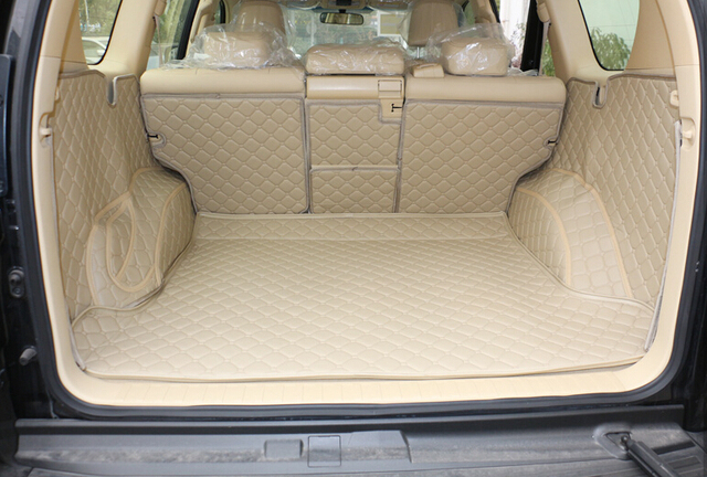 Buy top quality special trunk mats for for 100 series land cruiser floor mats