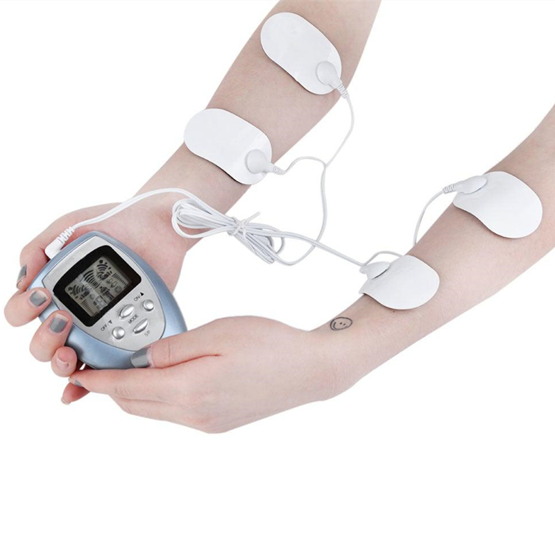 Full Body Massager Slimming Electric Slim Pulse Muscle Relax Fat Burner- hot electric muscle stimulator body slimming fat burner fitness breast care machine with electro pads for body massager beauty