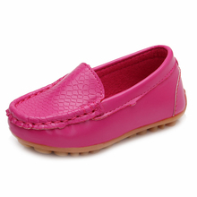 MACH New Children Shoes Classic Fashion PU Shoes for Girls Boys Shoes Flat Casual Kids Shoes