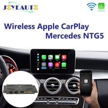 Joyeauto Wireless Apple Carplay for Mercedes A B C E G CLA GLA GLC S Class Car play Android Auto/Mirroring 2015-2019 NTG5 W205 unlimited use carplay apple android auto started in 10 seconds updated by m b star c4 c5 xentry ntg5 s1 apple car play