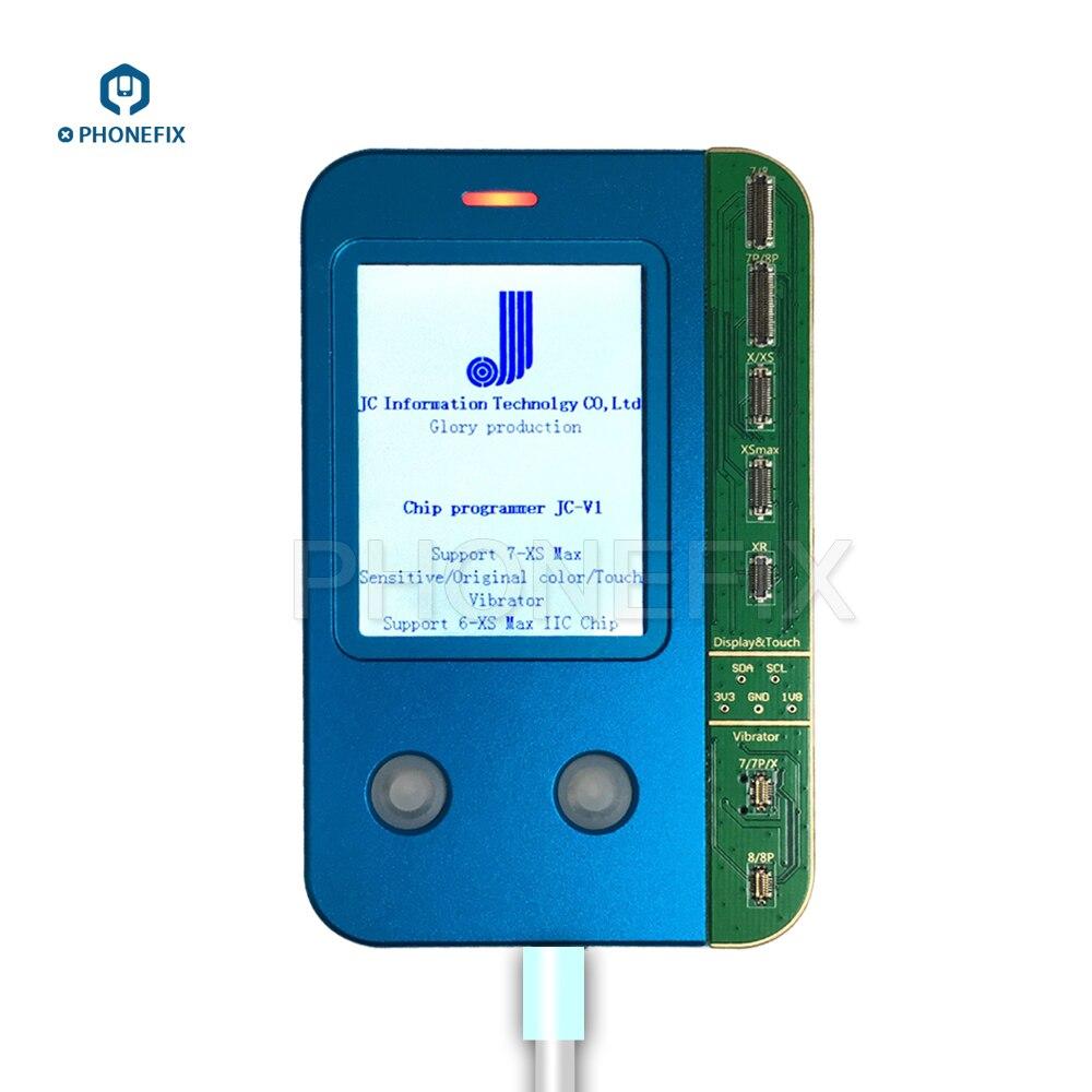 JC V1 Telefon Chip programmierer für iphone 7 8 X XS MAX Original sensitive Light Sensor Touch Vibrator daten Lesen Schreiben programmierer-in Handwerkzeug-Sets aus Werkzeug bei AliExpress - 11.11_Doppel-11Tag der Singles 1
