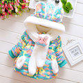 2015 winter clothes baby girl birthday gifts jackets coat for Christmas cute infant baby clothing girls thick outerwear coats