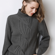 Turtleneck Cashmere Sweater Women Leisure Large size Women's Sweater