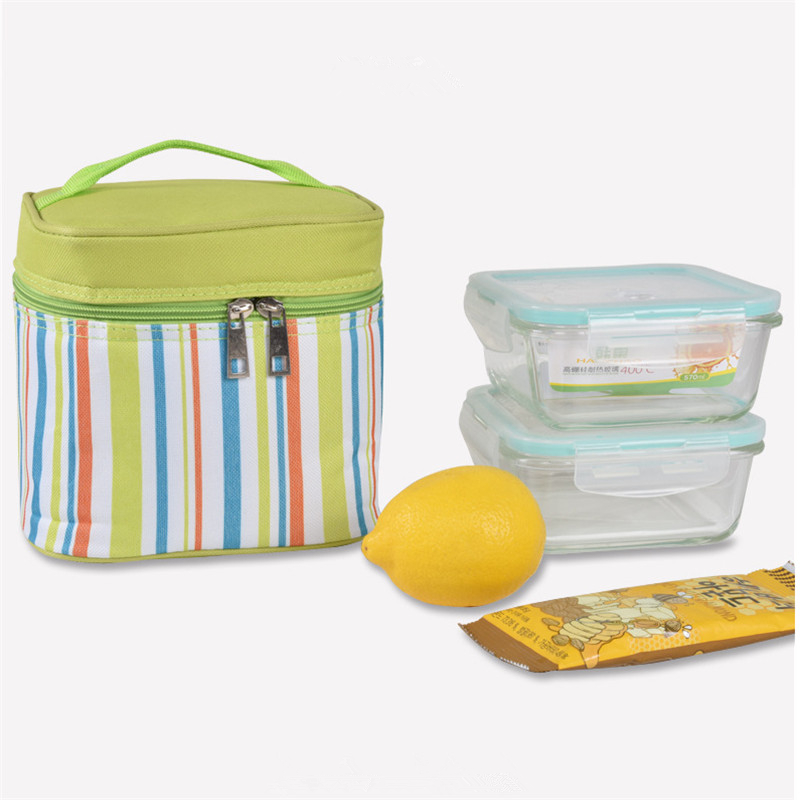 Insulated Picnic Bag Lunch Bag Box Thermal Ice Picnic Cooler Bag Oxford Cloth Coolers Lunch Box