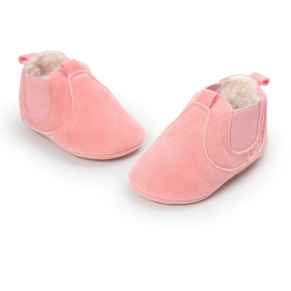 Hot koop! Warm winter babylaarzen romius nubuck Baby schoenen - Baby schoentjes - Foto 2