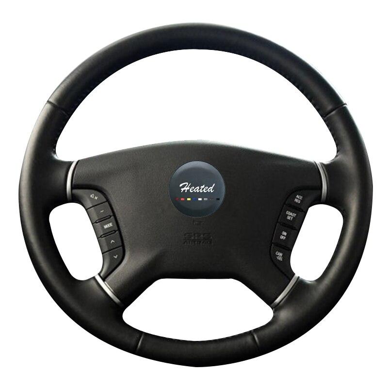 2008 Mitsubishi Galant Interior: Genuine Leather Steering Wheel Cover For Mitsubishi Pajero