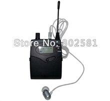 Bodypack 수신기 in ear 모니터 시스템 무선 dslr 카메라 마이크 투어 가이드 시스템 4*10 채널 조정 가능