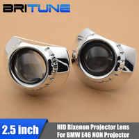 2,5 ''HID bi-xenon proyector lente para BMW E46 M3 ZKW/AL faro halógeno retroajuste Kit de sintonización mini luces H1 H4 H7 para bricolaje