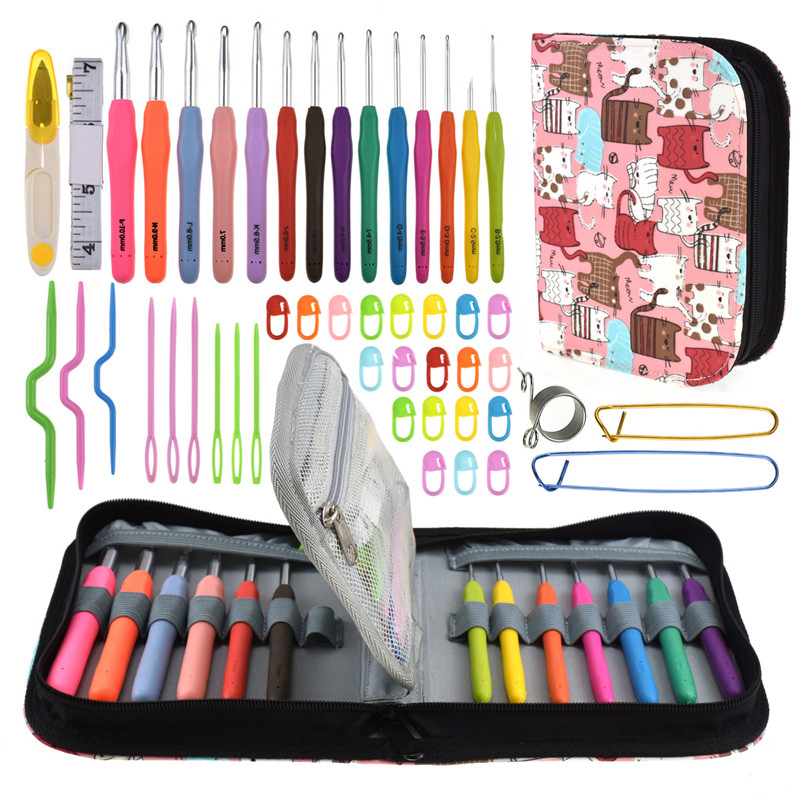 Knowledgeable 47pcs/set Large Eye Needles Diy Crafts Tools Stainless Steel Embroidery Cross Stitch Knitting Yarn Sewing Diy Craft Accessories Needles