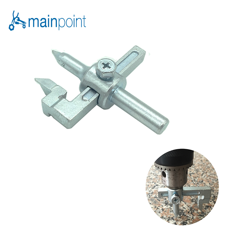Mainpoint 13 50mm Adjustable Circle Tile Cutter Hole