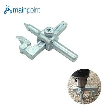 Mainpoint, cortador de azulejos circular ajustable de 13-50mm, cortador de agujeros para azulejos de cerámica, Broca de carburo de tungsteno, para herramienta electrónica