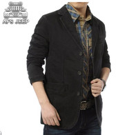 Plus Size 4XL Men Blazers AFS JEEP Leisure Trip Party Clothing For Spring Autumn Original Brand Casual Mens Jackets 100% Cotton