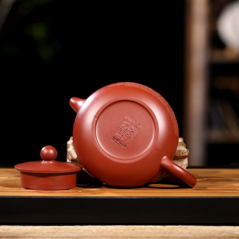 are recommended the teapot tea undressed ore dahongpao day garden pure handmade wholesale direct wechat business - 5