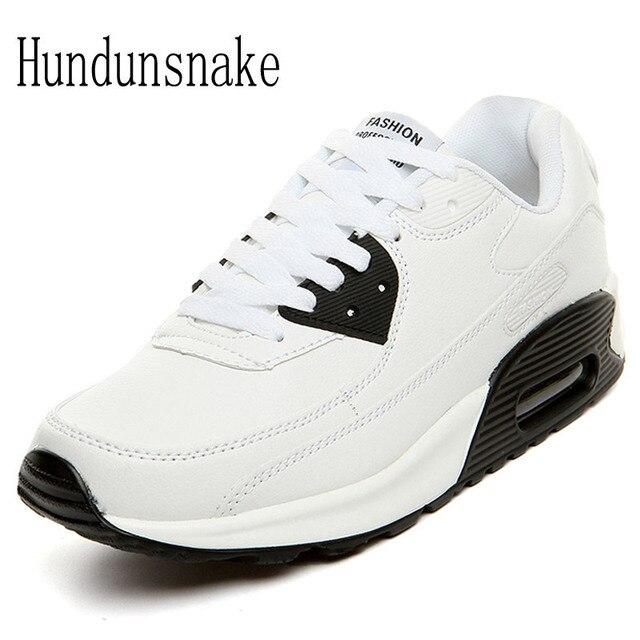 f7f7fd4ea Hundunsnake جلدية رياضية بيضاء النساء 2018 الاحذية للرجال أحذية الرياضة  الإناث Krasovki توسيد الرياضي المخبرون T6