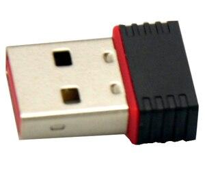 Image 5 - Vente en gros 30 pièces/lot Ralink 5370 150Mbps sans fil Mini WiFi USB adaptateur LAN carte réseau adaptateur pour SKYBOX/Openbox/STB