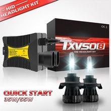 HESITE H13 Socket 35W 55W Xenon Headlights HID Bixenon Bulbs 12V Auto Car Accessories Slim Ballast Kit 4300K 5000K 6000K-12000K