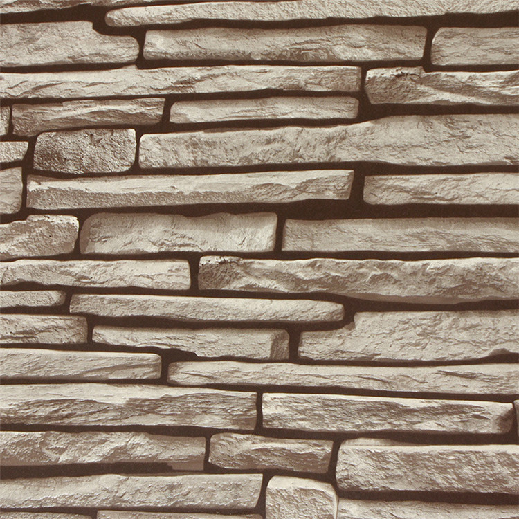 Aliexpress Com Buy 3d Walls Wallpaper Rolls Photo Wall: 3D Wallpaper Stone Brick Wall Paper Roll Vintage Rock