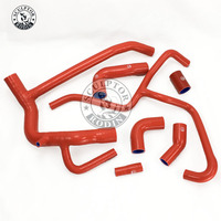 Silicone Radiator Hose Fit For Land Rover defender 300TDI/2.5TD 1994 2004 (7 PCS) red/blue/black